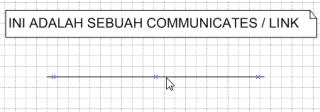 communicates, link